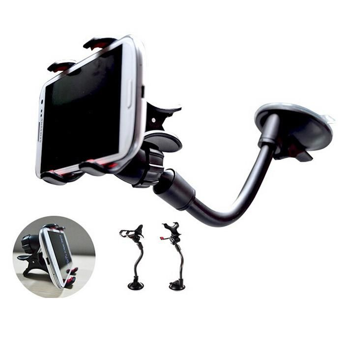 Automobile Phone Holders, Up to 6.2 inch, Car Dashboard Mini Holder, Navigation Clip Stand Mounts for Mobile Phone