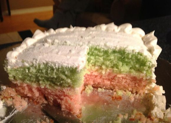 Sri Lankan Ribbon Cake
