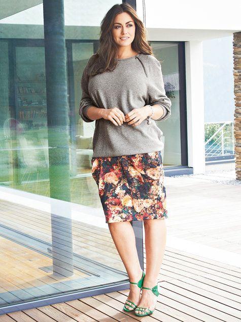 Burda Style - Draped Skirt (Plus Size) 08/2014