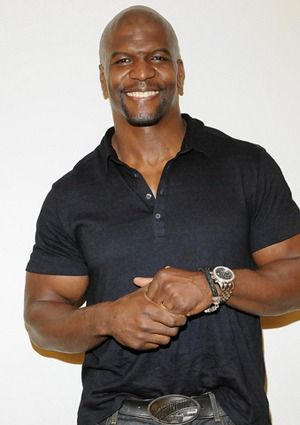 Terry Crews Easy going guy.