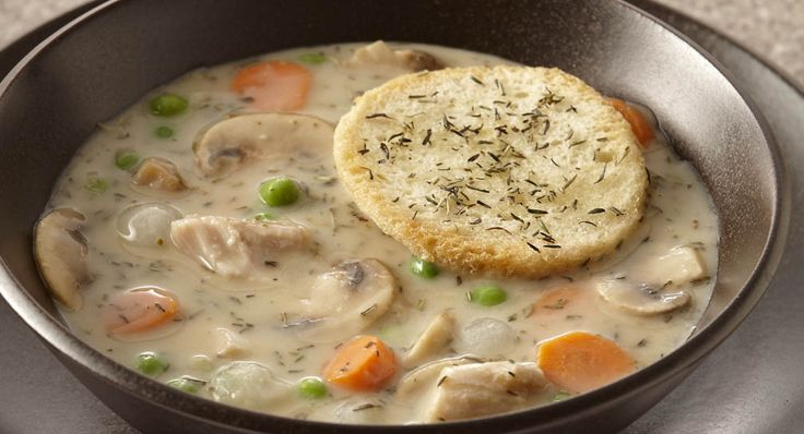 Chicken Pot Pie Soup: 4 Points ~ 5 Points+
