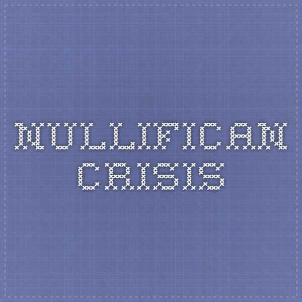 The nullification crisis was a result of the different impact that protective tariffs had on the North and the South. A protective tariff is designed to raise import taxes on goods coming from foreign countries in order to make them more expensive than goods produced in the United States. This would benefit the emerging industries in the North. A protective tariff would raise the price of the  goods that South Carolinians would buy from the industrial north or from Great Britain.