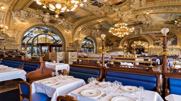 12 ème  Restaurant Gastronomique au coeur de la Gare de Lyon - Le Train Bleu