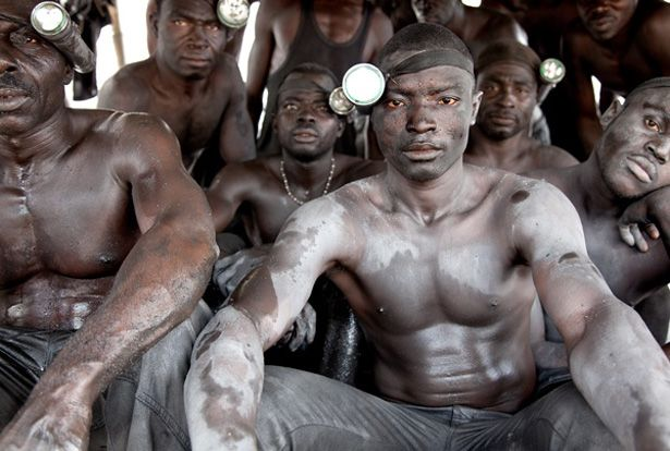 Slavery Still Exists:  At an illegal gold mine in Accra, Ghana