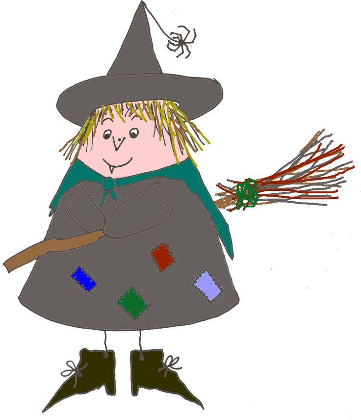 een heksenproject uitgewerkt, knutselideeën, versjes, een heksenhoek enz.