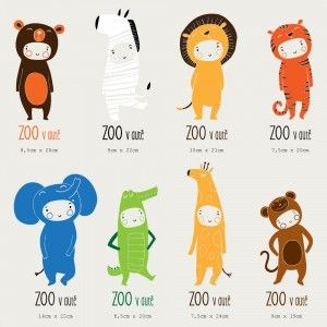 """""""tygr"""" ZOO v autě baby on board, stickers, car stickers, cute decals"""