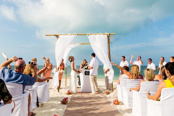Mexico destination wedding locations on the beach: Finest Playa Mujeres Wedding, MX   FineArt Studio Photography