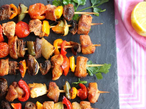 A bit of work, but a fun dish to serve to company and is always praised for its taste! For best flavour, marinade overnight. You can also baste with your favourite barbecue sauce during grill time.