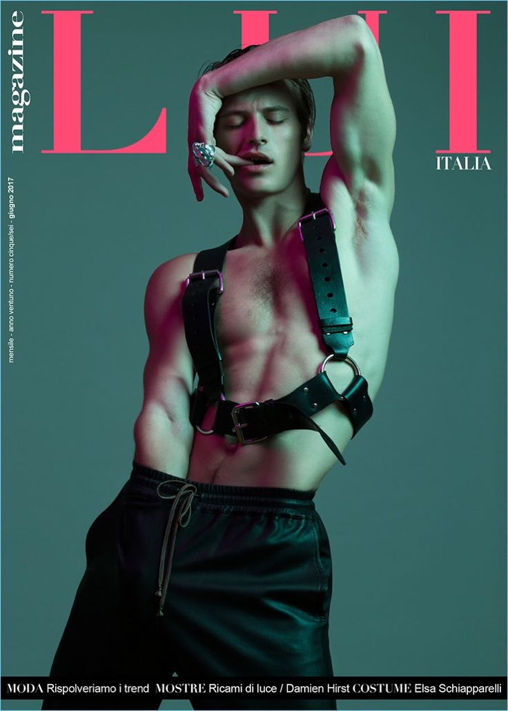 Jules Raynal covers the May/June 2017 issue of Lui Italia.