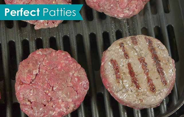 how to make hamburger patties on stove
