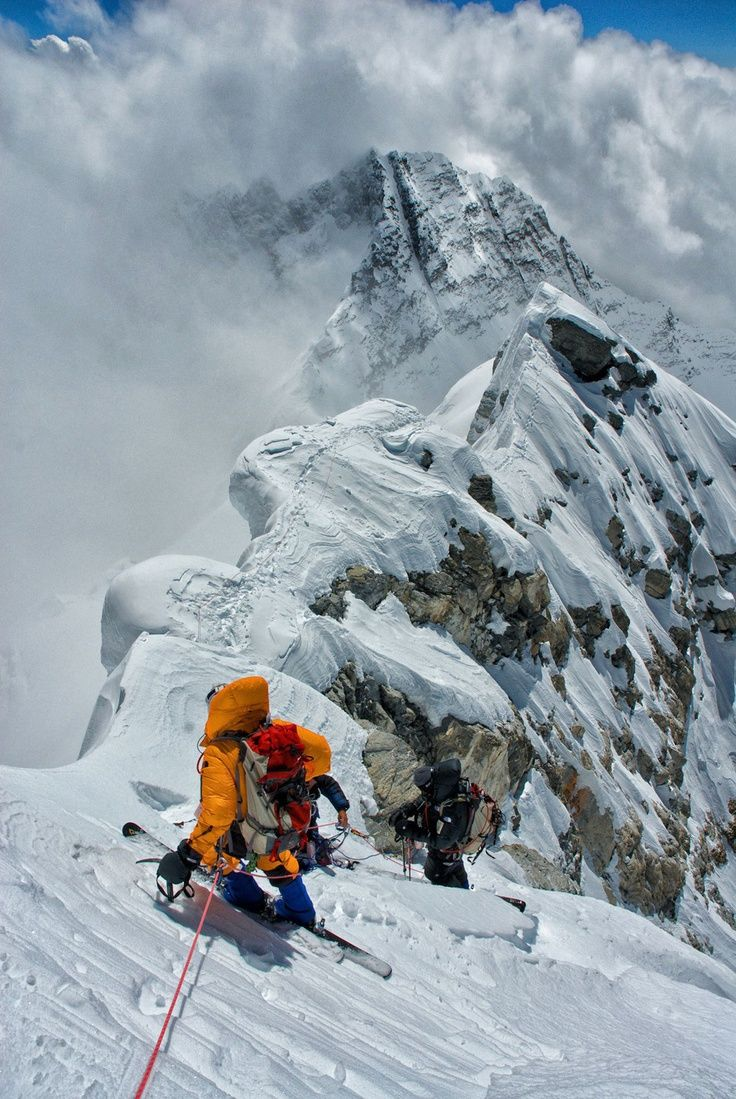 We asked Jimmy Chin, a National Geographic photographer, as well as a climber and a skier, and Conrad Anker, a famous mountaineer who discovered George Mallory's body on the mountain during one of the most significant recent expeditions to Everest, to share a selection of their photographs.