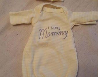 "Mini micro preemie reborn baby silicone doll clothes silicone doll 10"" outfit"