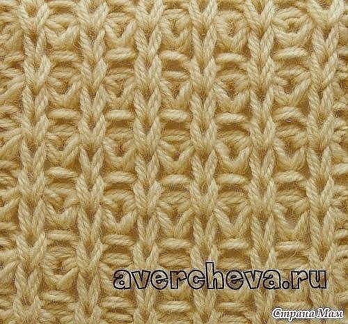 Красивый узор спицами для вязания плотных вещей (УЗОРЫ СПИЦАМИ) | Журнал Вдохновение Рукодельницы