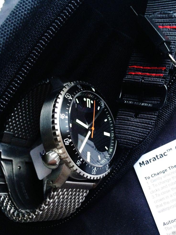 Maratac Dive Military Automatic Brand New Wristwatch Mens RARE | eBay