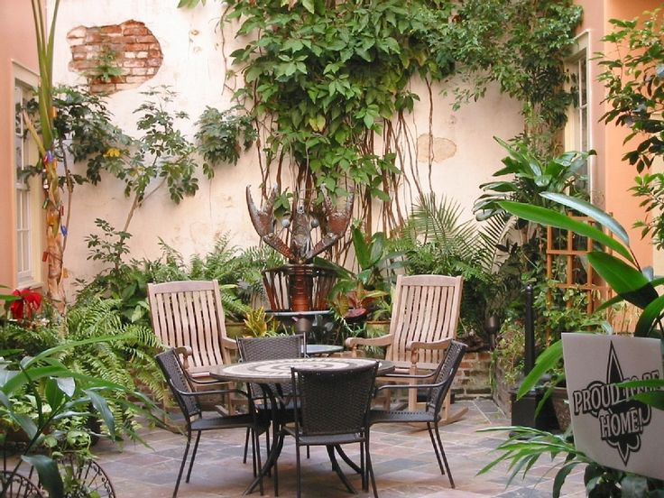 45 best New Orleans courtyards and ideas images on