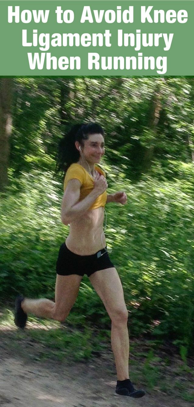 How to Avoid Knee Ligament Injury When Running