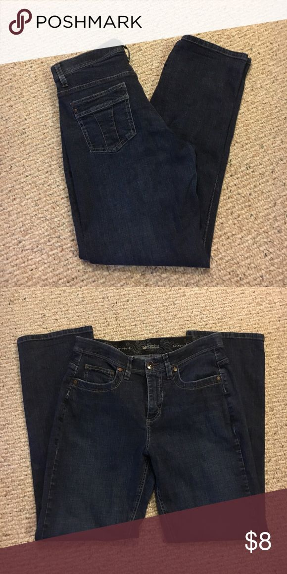 Lee Jeans Lee jeans with comfort waistband. Like new. Lee Jeans Straight Leg