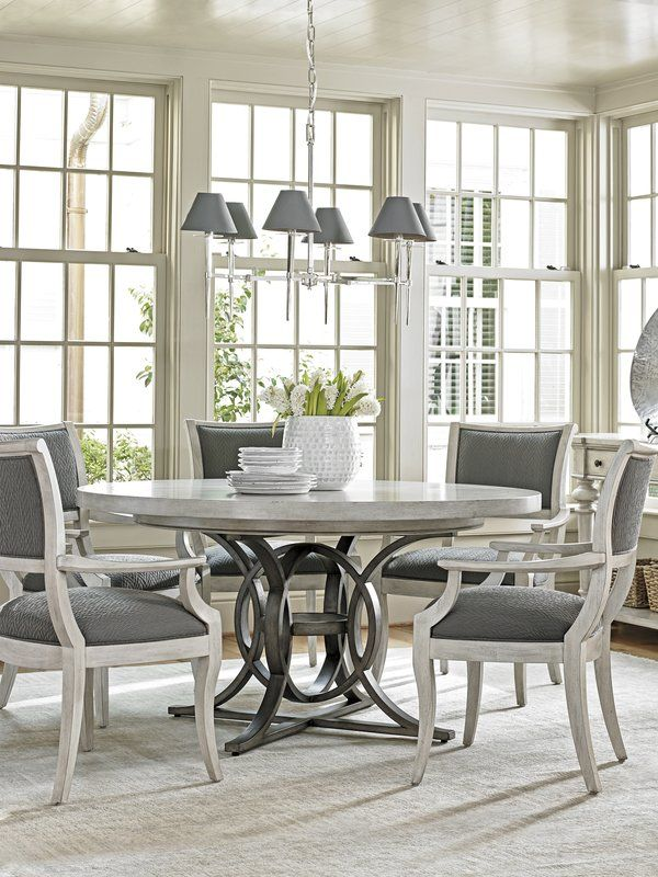 Oyster Bay Eastport Upholstered Dining Chair With Images Round Dining Room