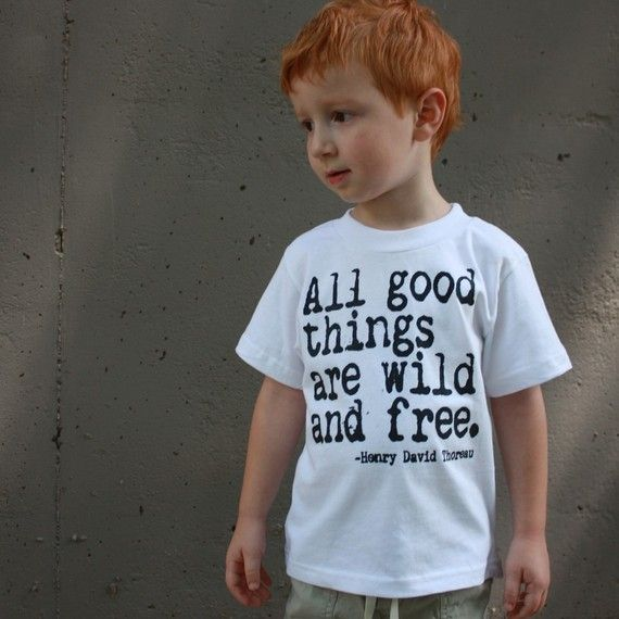 All Good Things Are Wild And Free Nerdy Book Worm T Shirt  $16.00: Kids Shirts, Wild And Free,  T-Shirt, Good Things, My Boys, Jersey,  Tees Shirts, T Shirts, Red Head