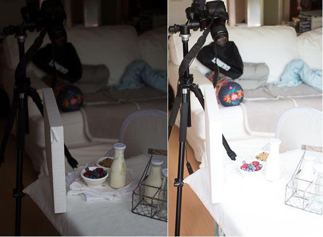 Rady pre fotenie jedla - fotografovanie bielej. Photographing on white | insimoneskitchen.com