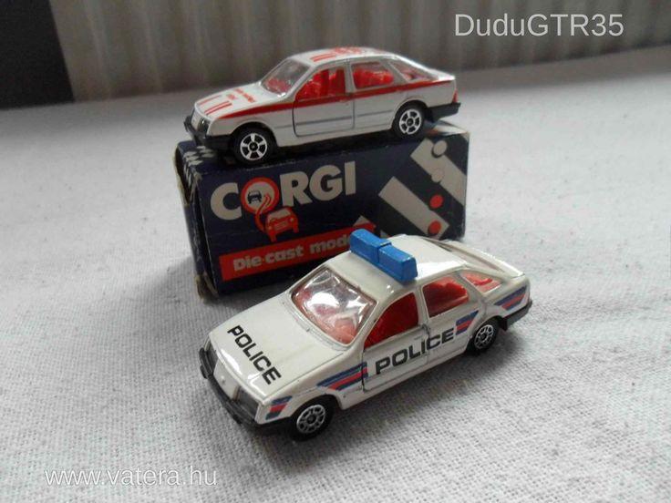 Eladó 2db Corgi Ford Sierra 1Ft NMÁ - 511 Ft - Nézd meg Te is Vaterán - Autó, busz - http://www.vatera.hu/item/view/?cod=1904458970