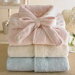 Pink Sheepy Fleecey Robe