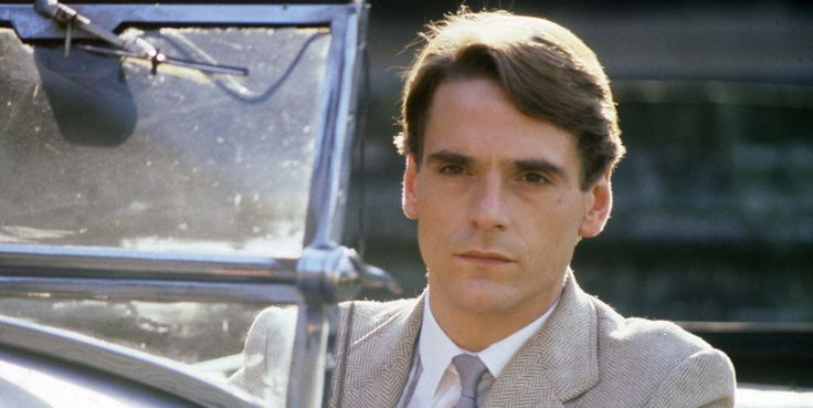 Jeremy Irons, as young Charles Ryder. Brideshead revisited.
