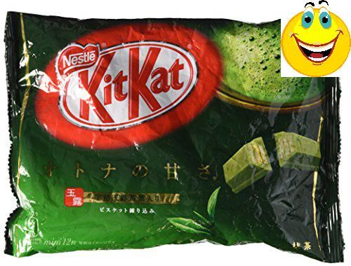 #Maccha Green Tea KitKats have quickly become the most sought #after snack coming from Japan. Here are a limited supply of maccha flavored KitKats that you won't ...