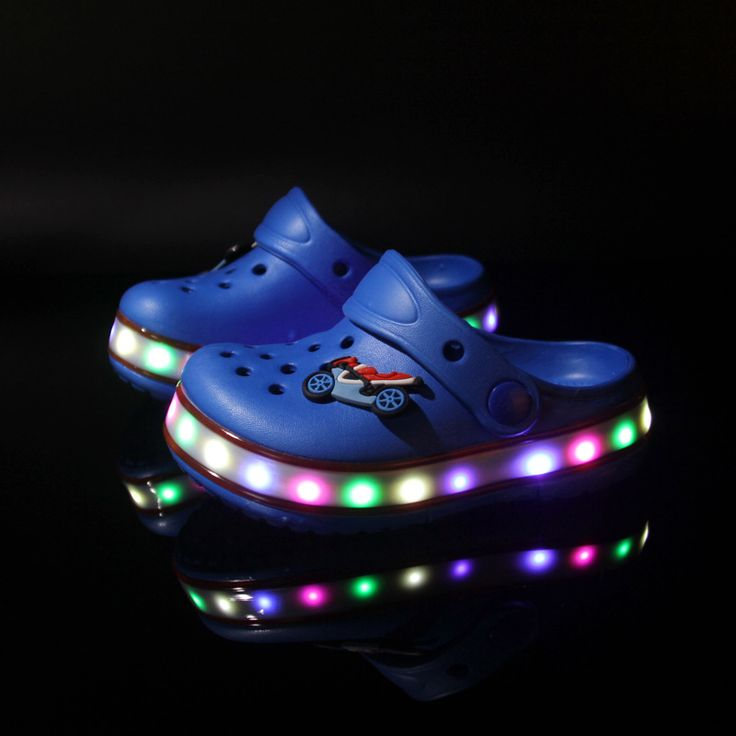 Cheap sandals with high heels, Buy Quality sandals package directly from China sandals accessories Suppliers: 2017 Toddler summer style Brand children's sandals LED Lighted Flashing boys girls beach slippers kids shoes sandal