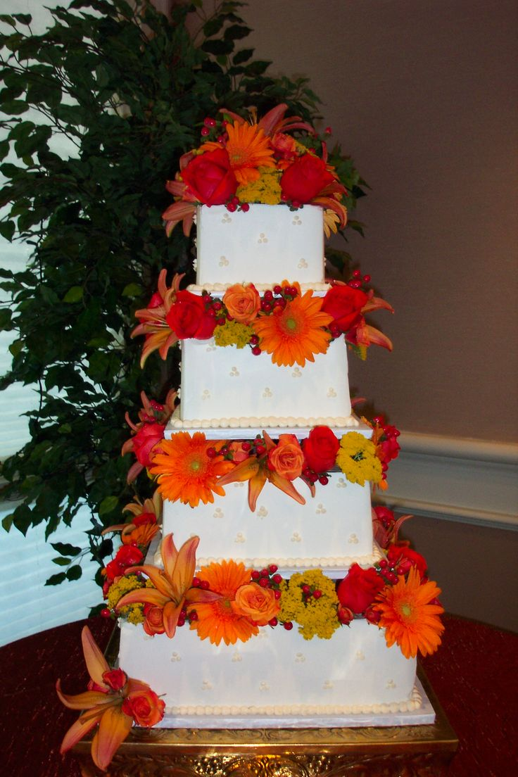 square tiered wedding cake with dots wwwcheesecakeetcbiz wedding cakes charlotte nc