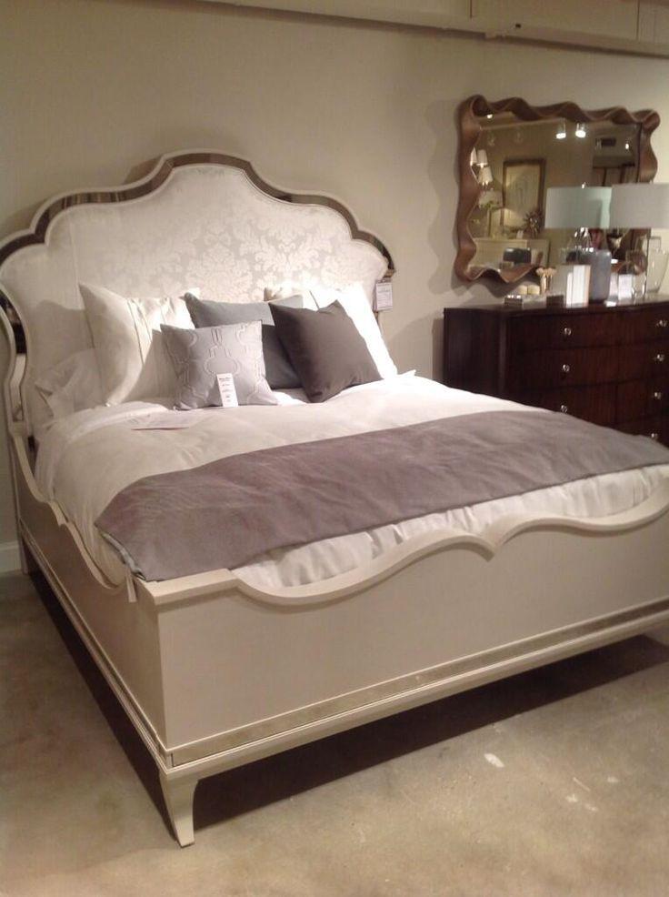 drexel bedroom set%0A Serpentine bed  Drexel Dunagan Bond Heritage  hpmkt  Sandy McLeod Home   favoritefind pic