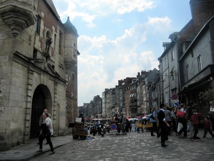 Honfleur streets, Normandy, France