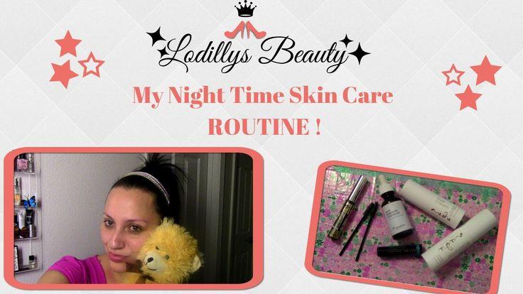⭐️ My Night Time Skincare Routine ⭐️