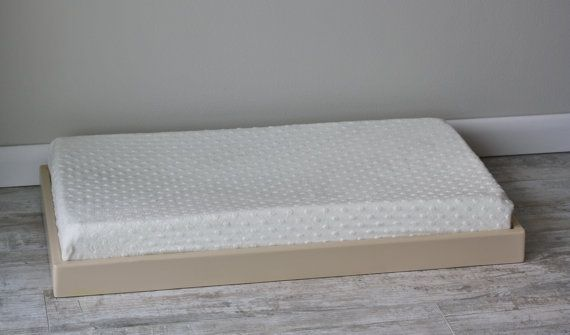 Taupe Changing Pad Tray Holder Dresser Top Custom Color Nursery Pinterest And