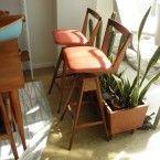 TH Brown bar stools iconic Australian design