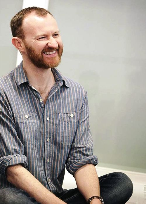 Mark Gatiss, and all his gingery beardedness
