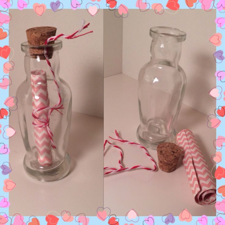 $5 #handmade #messageinabottle gift idea! Available at http://instagram.com/little_crafted_things/