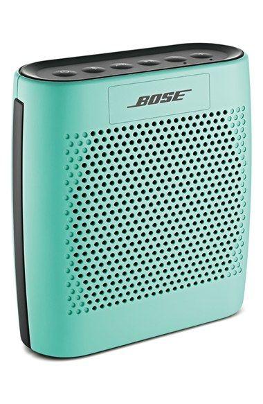 Bose bluetooth speaker in mint http://rstyle.me/n/v2ysrnyg6