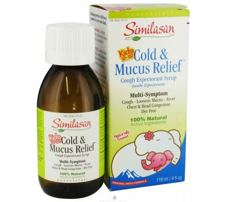 Similasan Kids 2-12 Cold & Mucus Relief Cough Expectorant Syrup - 4 oz     Similasan Kids 2-12 Cold & Mucus Relief Cough Expectorant Syrup provides temporary multi-symptom relief for the common cold. Colds are a part of being a kid. At Similasan, we understand you want your child to feel better and so we created Kids Cold & Mucus Relief cough expectorant syrup using homeopathic active ingredients that are 100% natural. Each of the ingredients was specifically chosen to relieve those ....