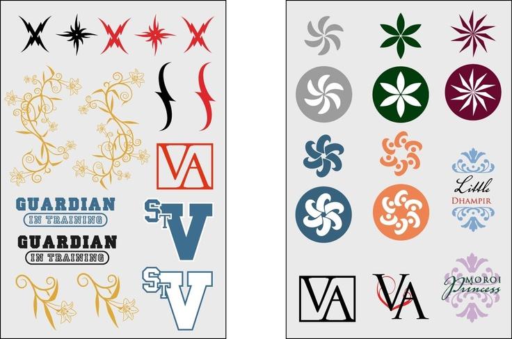 Vampire Academy : Tattoos