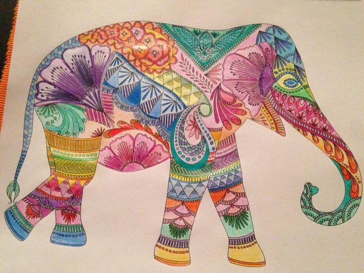 Coloring Ideas Elephant Book PagesAnimals