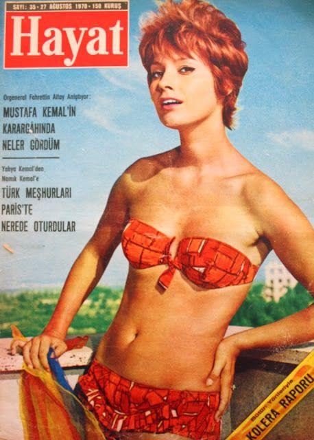 OĞUZ TOPOĞLU : clara padovani 27 ağustos 1970 hayat dergisi kapağ...