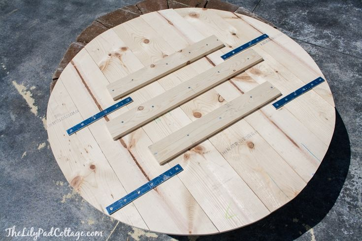 Diy fire pit table top the lilypad cottage fire pit