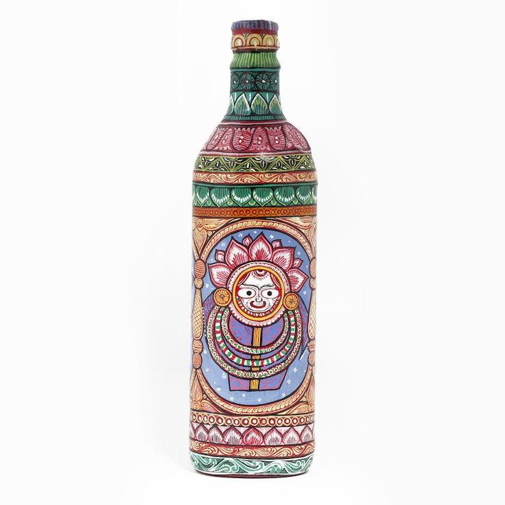 Jagannath Pattachitra bottle