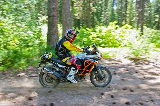 Adventure riding safety tip