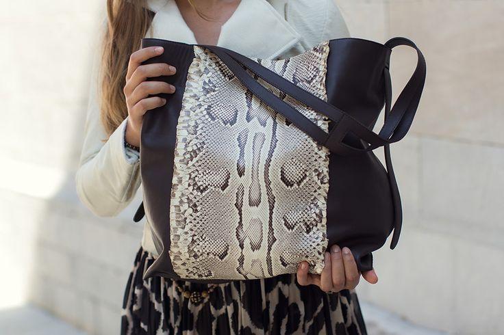 Elena Berton - Python Handbag
