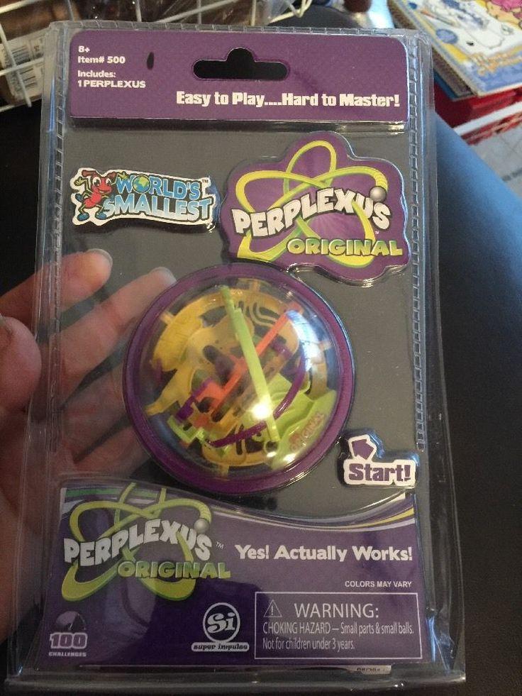 """World Smallest Perplexus Original 3"""" Maze Puzzle Ball Twisty Toy Gift #Rubiks"""