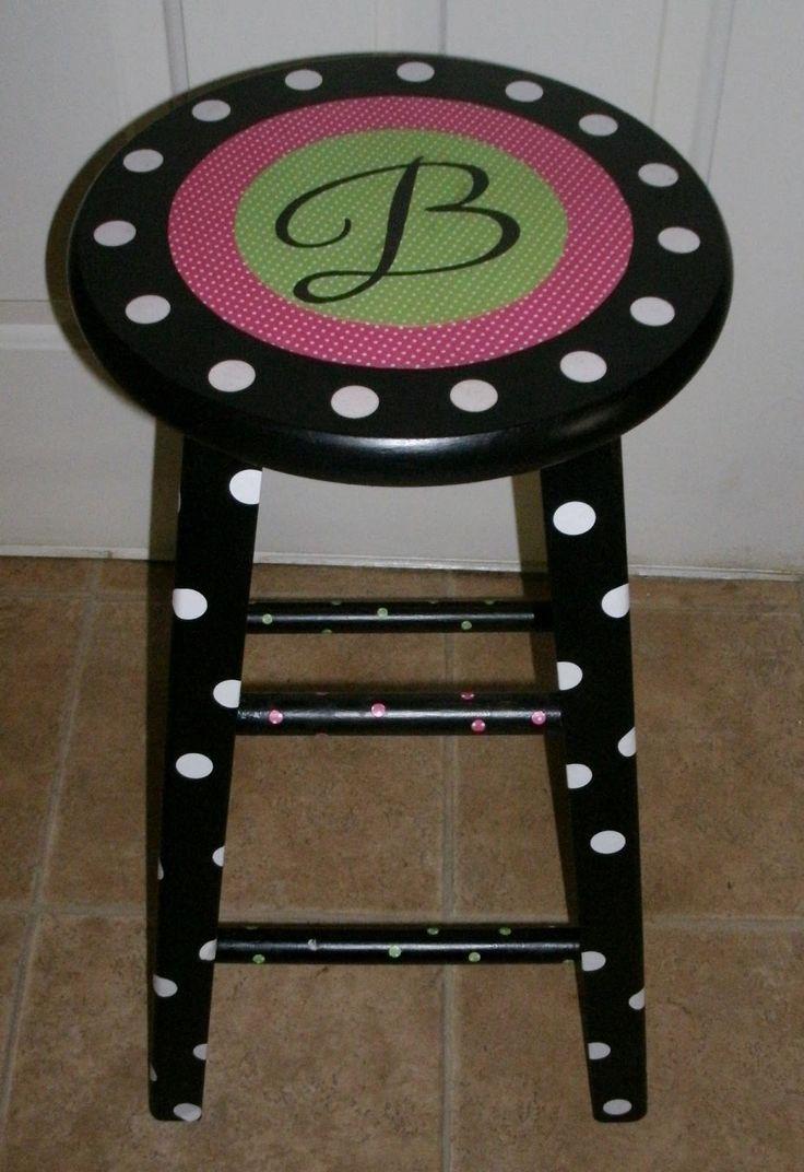 Enchanted in Elementary: Teacher stool