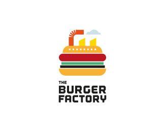 The Burger Factory #burger #logo