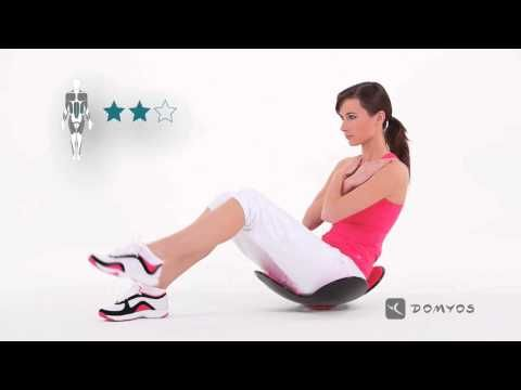 Exercice 2 abdominal et gainage - Abdo Gain - Domyos - YouTube